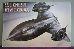 Large Framed Lockheed Blackbird Print. #