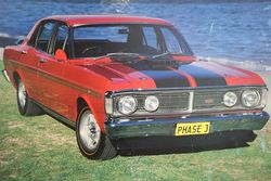Ford Falcon XY GTHO Phase 3 Sign
