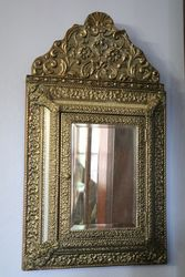 1930and39s Dutch Bass Mirror + Brush Tidy