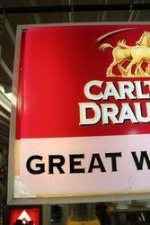 Carlton Draught Great Western Light Box