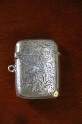 Silver Vesta Case Birmingham 1911