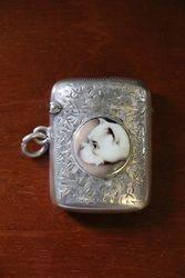 Sterling Silver Vesta Case Birmingham 1924 #