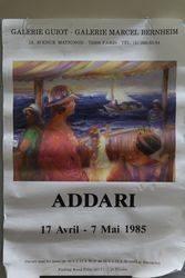 French Art Poster Addari Paris 1985