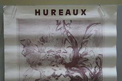French Art Poster Hureaux  Paris 1985