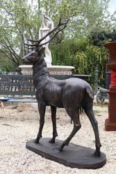 Life size Cast Iron Deer
