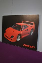 Ferrari Advertising Framed Poster