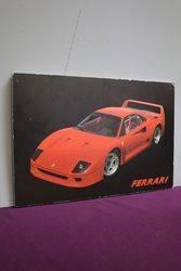 Ferrari Advertising Framed Poster