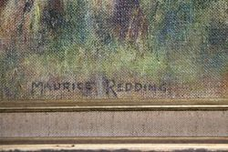 Australian Landscape Oil By Maurice Redding