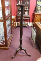 Late 19th Century Mahogany Torchere #