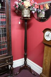 Late 19th Century Mahogany Torchere