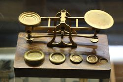 Late Victorian Postal Scales SMordanCo