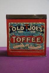 Glenn & Co. Ltd Coventry Old Joe's Toffee Tin #