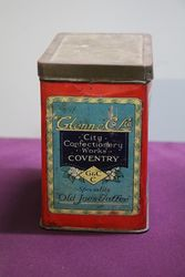 Glenn and Co Ltd Coventry Old Joeand39s Toffee Tin