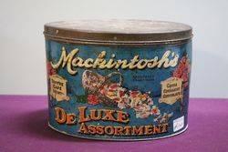 J.Mackintosh Halifax Deluxe Assortment Toffee / Cafe Tin #