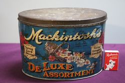 JMackintosh Halifax Deluxe Assortment Toffee  Cafe Tin