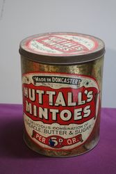 Nuttall's Mintoes Doncaster Toffee Tin #