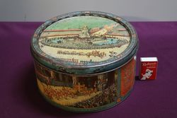 Wallerand39s and Hartley Ltd  Blackpool  Pictorial Cake Tin