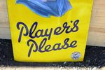 Players Please Cigarette Enamel Sign