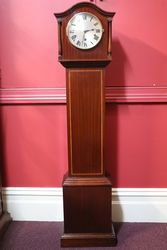Small Early C20th Grandmother Clock.#