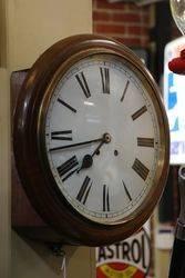 Genuine Wall Clock  Time + Strike  Quality Movement  Lenzkirk