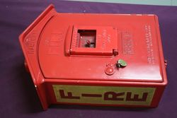 Original Gamewell Cast Fire Alarm Call Box 6341
