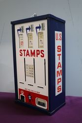 Shipman Manufacturing Co Stamp Vending Machine Enamel Front