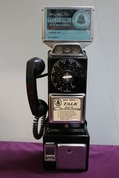 Western Electric 3 Slot Pay Phone C1960and39s