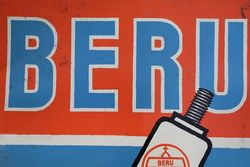 Beru Zundkerzen Spark Plug Tin Advertising Sign