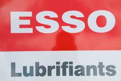 Esso Lubrifiants Double Sided Lightbox