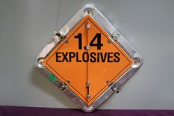 Safety Hazard Warning Sign With 9 Alternative Sign