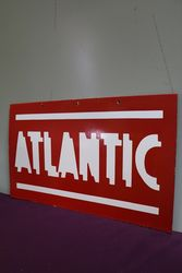 Atlantic  Double Sided Enamel Advertising sign