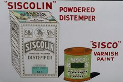 Sissons Brothers and Co Ltd Enamel Advertising Sign