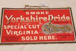 Yorkshire Pride Tobacco Ad Card