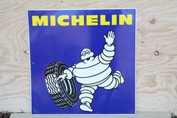 Michelin Aluminum Advertising Sign  #
