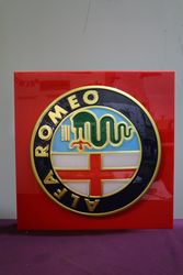 Alfa Romeo Light Box. Working.. #
