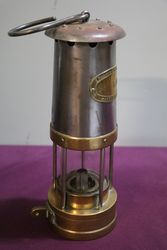 E Thomas and Williams + Co Post Office Miners Lamp