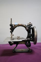Antique Sewing Machine F+W Automatic Made By the Foley+Williams  #