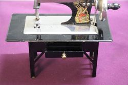 Rare Example Of German andquotCasige 204andquot Table + Drawer C1936