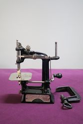 Smith + Egge Automatic Miniature Sewing Machine C1896 #