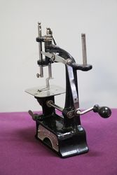 Smith + Egge Automatic Miniature Sewing Machine C1896