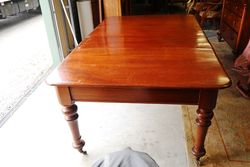 Antique Australian Cedar 2 Leaf Extension Table