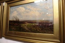 2019 Pair of C19th Framed Decorative Paintings