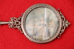 Silver Mirror and Picture C1850