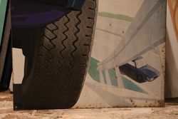 Michelin XVS Radial Tyre Tin Sign