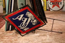 Agfa Double Sided Sign