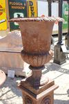 Large Romano Cast Iron Urn Only