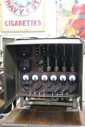 Vintage Army Switchboard Charging