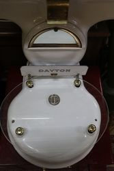 Antique white porcelain Dayton Money Weight Scale