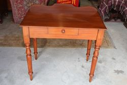 Antique Australian Cedar Hall Table. #