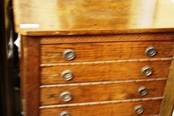 Oak Music Cabinet